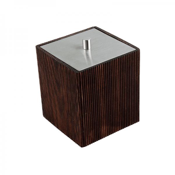Pojemnik kosmetyczny - drewniany Ferro wenge